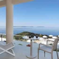 Chambre Supérieure rez-de-chaussée vue mer - Hôtel la Villa Douce - Golfe de St Tropez