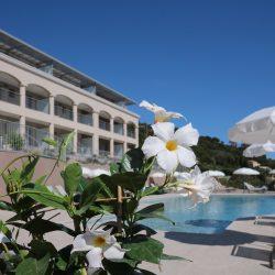 Piscine chauffée Hôtel la Villa Douce - Golfe de St Tropez
