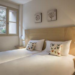 Chambre à 2 lits suite appartement - Hôtel la Villa Douce - Golfe de St Tropez