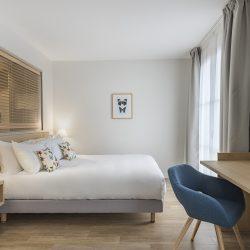 Lit suite junior face à la mer - Hôtel la Villa Douce - Golfe de St Tropez