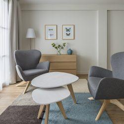 Espace salon Suite Junior - Hôtel la Villa Douce - Golfe de St Tropez