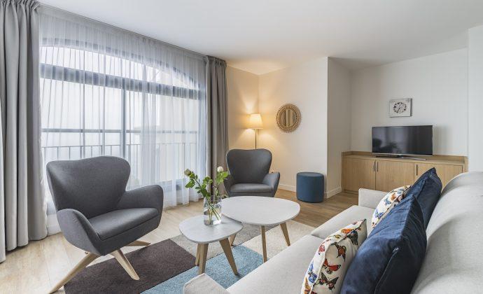 Espace salon suite appartement - Hôtel la Villa Douce - Golfe de St Tropez