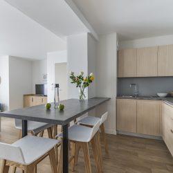 Cuisine suite appartement - Hôtel la Villa Douce - Golfe de St Tropez
