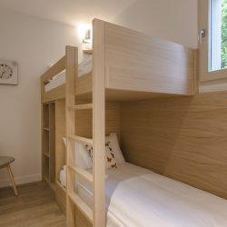 Lits superposés suite famille - Hôtel la Villa Douce - Golfe de St Tropez