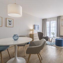 Espace salon - Suite famille - Hôtel la Villa Douce - Golfe de St Tropez