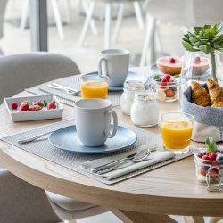 Breakfast - Club Papillon - Hôtel La Villa Douce - 4 star hôtel - Golfe de Saint-Tropez