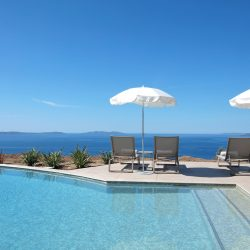 Swimming pool with sea view - Hôtel La Villa Douce - Golfe de Saint Tropez
