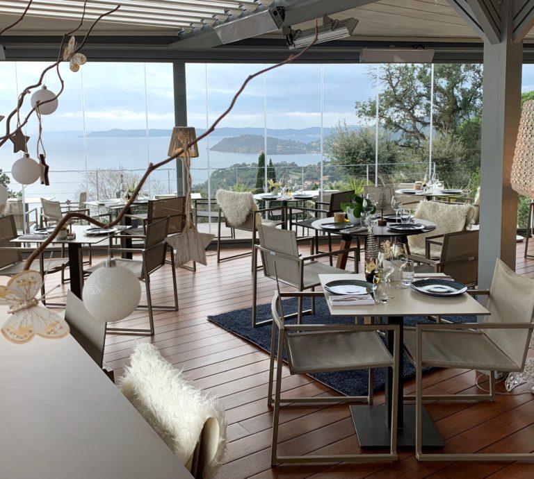 Restaurant café l'Envol Golf St Tropez