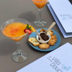 Hotel 4 etoiles La Villa Douce - Saint Tropez - Aperitif restaurant le Cafe l'Envol