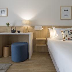 Chambre supérieure rez de chaussée - Hôtel La Villa Douce - Hôtel 4étoiles - Golfe de Saint-Tropez