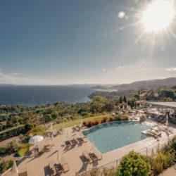 Hôtel 4 etoiles La Villa Douce - Saint Tropez - Piscine 3 vue mer