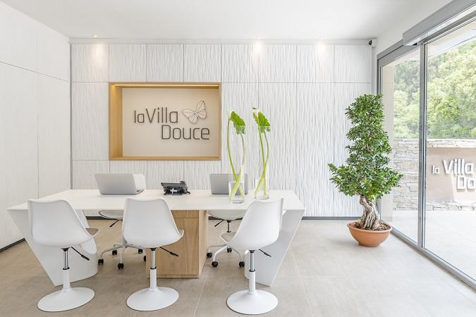 Lobby - réception -Hôtel la Villa Douce **** - Golfe de St Tropez