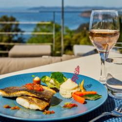 Hôtel 4 étoiles La Villa Douce - Saint Tropez - Restaurant Le Café l'Envol Plat 4