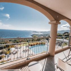 Hotel 4 etoiles La Villa Douce - Saint Tropez - Suite junior 302 vue balcon 2