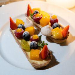 Hotel 4 etoiles La Villa Douce - Saint Tropez - restaurant le Cafe l'Envol dessert