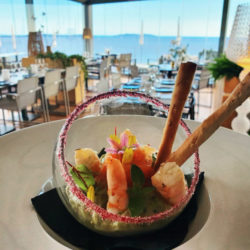 Restaurant le Café l'envol plat - Hotel 4 étoiles la villa douce saint tropez rayol canadel