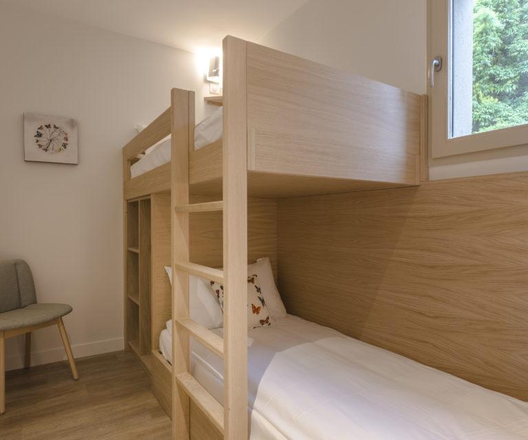 Suite Famille Prestige - Chambre avec lits superposés - Hôtel La Villa Douce - Hôtel 4 étoiles - Golfe de Saint-Tropez