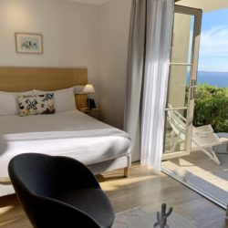 hotel 4 étoiles la villa douce chambre 109 standard rez de chaussée vue mer